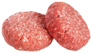 round pureland america organic beef to make the perfect burger