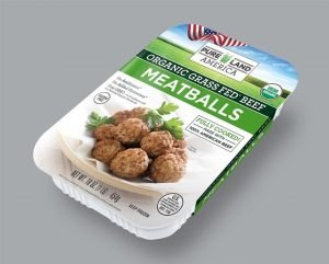 buy grass fed frozen meatballs from pureland america